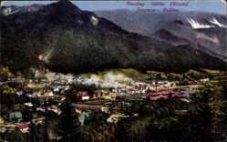 Postcard Jesenice Aßling, Hütte, Fuzine, Krain, Panorama, Fabriken
