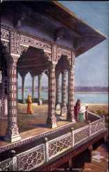 Künstler Ak Agra Indien, Exterior of Zenana, Tuck 7237