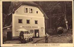 Ak Dürnberg Hallein Salzburg, Berghaus mit Ausfahrtsstollen, Wolf Dietrich