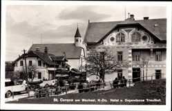 Postcard St. Corona am Wechsel Niederösterreich, Hotel und Dependance Trauthof