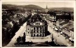 Postcard Košice Kassa Kaschau Slowakei, Hlavna ul. Hauptgasse, Föucca
