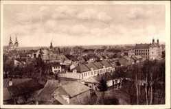 Postcard Kojetin Reg. Olmütz, Celkovy pohled, Blick auf den Ort, Kirche