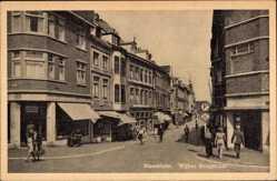 Postcard Maastricht Limburg Niederlande, Wijker Brugstraat, Geschäfte, Passanten