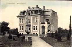 Postcard Františkovy Lázně Franzensbad Reg. Karlsbad, Blick auf das Beamtenheim