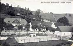 Ak Potůčky Breitenbach Reg. Karlsbad, Dreckschänke, Tennisplatz