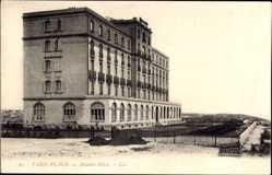 Ak Le Touquet Paris Plage Pas de Calais, Blick auf das Atlantic Hotel