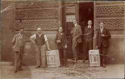 Foto Ak Wien 6., Königsklostergasse 7, AEG Union, Oskar F. Schindler, Arbeiter