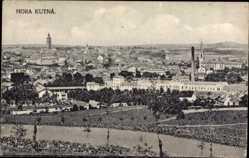 Postcard Hora Kutná Mittelböhmen, Gesamtansicht der Stadt