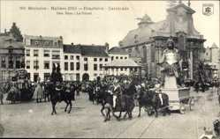 Postcard Mechelen Malines Flandern Antwerpen, Den Reus, Praaltrein, Cavalcade