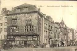 Postcard Liège Lüttich Wallonien, Ancienne maison, Quai de la Gofte