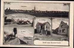 Postcard Sondernheim Germersheim Rheinland Pfalz, Leonhard Teubel, Forsthaus