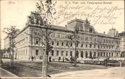 Postcard Graz Steiermark Österreich, K. K. Post und Telegraphen Anstalt