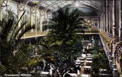 Postcard Amsterdam Nordholland Niederlande, Wintergarten im Hotel Krasnopolsky