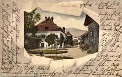 Passepartout Ak Bad Goisern Salzkammergut Oberösterreich, Goiserner Mühle