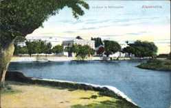 Postcard Alexandria Ägypten, Le Canal de Mahmoudieh, Häuser, Gewässer
