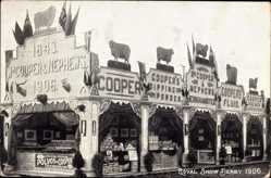 Postcard Derby East Midlands England, Royal Agricultural Show 1906, Cooper and Nephews