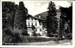 Postcard Wernigerode am Harz, Müttererholungsheim im schmalen Tal