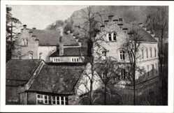 Postcard Wernigerode am Harz, Das kirchliche Tagungs und Freizeitheim Huberhaus