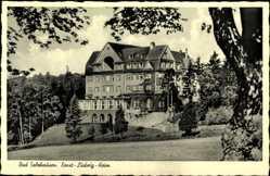Postcard Bad Salzhausen Niedersachsen, Blick auf das Ernst Ludwig Heim