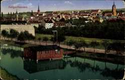 Ak Sangerhausen im Kreis Mansfeld Südharz, Ortsansicht, Rodewald, Ottmar Zieher