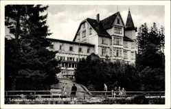 Postcard Schierke Wernigerode am Harz, FDGB Erholungsheim Hermann Gieseler