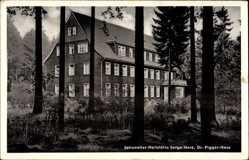Postcard Sorge Oberharz am Brocken, Johanniter Heilstätte Dr. Pigger Haus