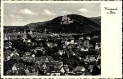 Postcard Wernigerode am Harz, Blick über die Dächer der Stadt