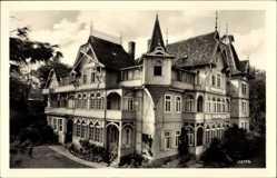 Postcard Wernigerode am Harz, FDGB Erholungsheim Roter Stern