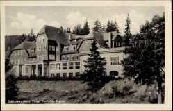 Postcard Schierke Wernigerode am Harz, Das Hotel Heinrich Heine