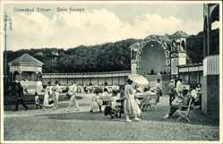 Ak Ostseebad Göhren auf Rügen, Beim Konzert, Bühne
