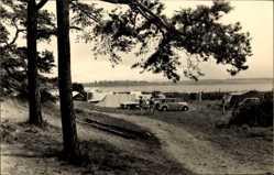 Postcard Luftkurort Plau am See, Partie im Zeltplatz am Plauer See, Camping