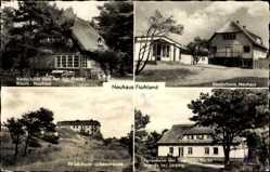 Postcard Neuhaus Fischland Dierhagen, Ferienheim d. Schamotte Werke Brandis