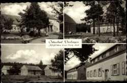 Postcard Ostseebad Dierhagen, FDGB Heim Ernst Moritz Arndt, Bungalows