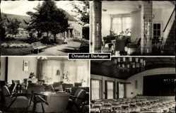 Postcard Ostseebad Dierhagen, FDGB Haus Ernst Moritz Arndt, Innenansicht