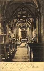 Postcard Blankenburg am Harz, Inneres der Bartholomaikirche