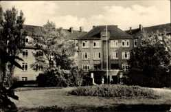 Postcard Bad Wilsnack in der Prignitz, Blick auf das Goethehaus