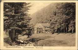 Postcard Friedrichroda im Thüringer Wald, Lauchagrund, Massemühle