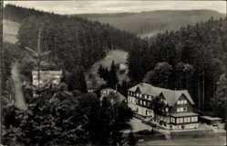 Postcard Friedrichroda im Thüringer Wald, Blick zum Kühlen Tal