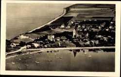 Postcard Rerik Mecklenburg, Fliegeraufnahmevon Ort und Umgebung, Ostseebad