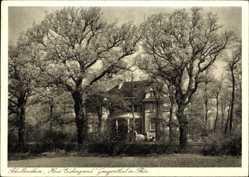 Postcard Georgenthal im Tal der Apfelstädt, Blick auf das Schullandheim, Eichengrund