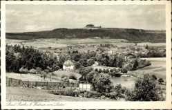 Postcard Bad Berka im Weimarer Land, Blick auf den Ort mit Bauernhäusern