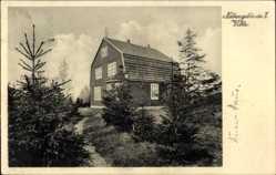 Postcard Benneckenstein Oberharz am Brocken, Erholungsheim Georg Zeidler Haus