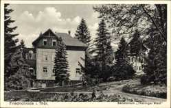 Postcard Friedrichroda Thüringen, Sanatorium Thüringer Wald