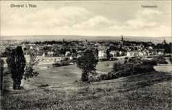 Postcard Ohrdruf im Thüringischen Kreis Gotha, Totalansicht der Stadt