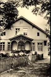 Ak Lanz Prignitz, Blick auf das Pfarrhaus, Geburtshaus von Friedrich Ludwig Jahn