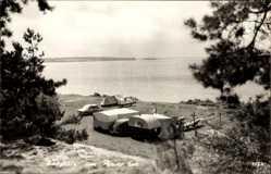 Ak Luftkurort Plau am See Zeltplatz am See, Zelte, Campingwagen, Strand