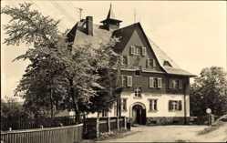 Postcard Johanngeorgenstadt im Erzgebirge Sachsen, Jugendherberge Ernst Schneller