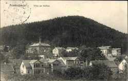 Postcard Friedrichroda im Thüringer Wald, Blick auf Villen am Gottlob