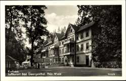 Postcard Georgenthal im Tal der Apfelstädt Thüringen, Blick auf das Kurhaus