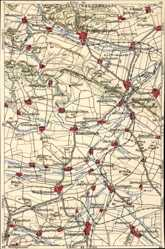 Landkarten Ak Bad Frankenhausen im Kyffhäuserkreis, Kindelbrück, Weißensee